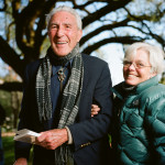 Stewart Udall and Nancy Kelly